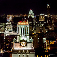Austin Skyline - from Helicopter