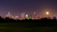 Blue Moon over Zilker