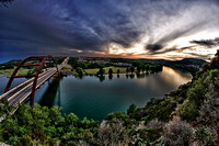 Austin, Texas, Pennybacker Bridge, 360 Bridge, Landscape, Fine Art Photography,Austin, Bridge, HDR, Lake, Texas, Jared Tennant, JTpics