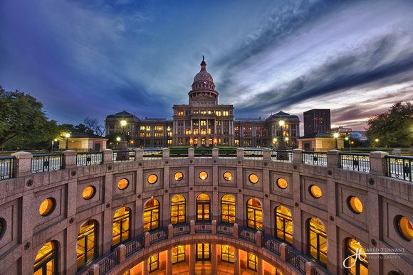 Austin, Texas, State Capitol, Capital, Landscape, Fine Art Photography, Austin, Bridge, HDR, Texas, Jared Tennant, JTpics